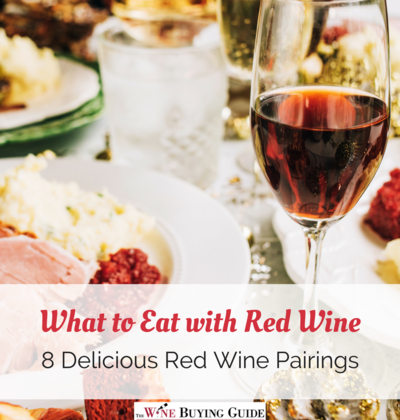 What to Eat with Red Wine