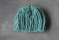 One Hour Knit Baby Hat Pattern