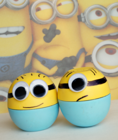 Make a Minion Lip Balm Containers
