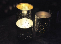 Tin Can DIY Lanterns