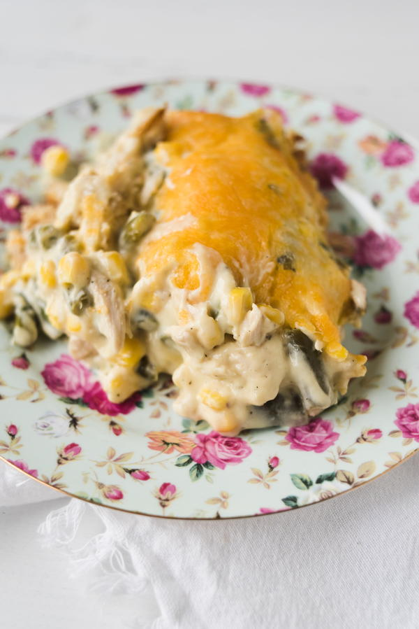 Grandma's Favorite Heirloom Country Chicken Casserole