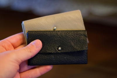 Professional Leather DIY Card Holder