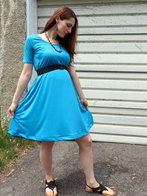 Breezy Trapeze Dress Tutorial