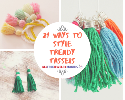 21 Ways to Style Trendy Tassel Jewelry