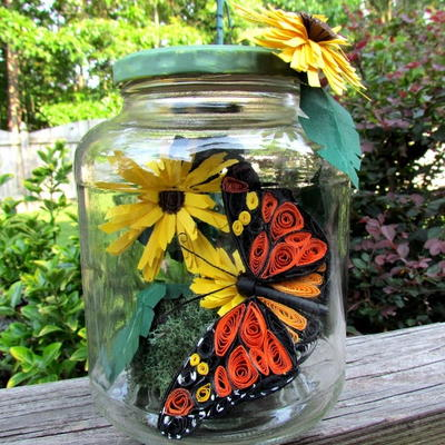 Butterfly Summer in a Jar