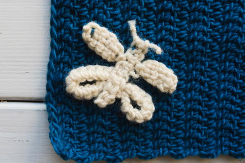 How to Add an Applique Piece to a Crochet Project