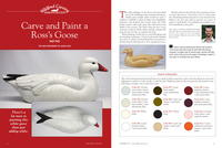 Painting a Ross's Goose