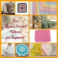 26 Free Crochet Afghan Patterns for Beginners