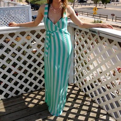 DIY Beach Maxi Dress