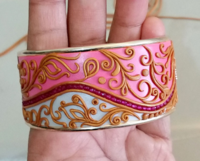 Golden Accented DIY Bracelet