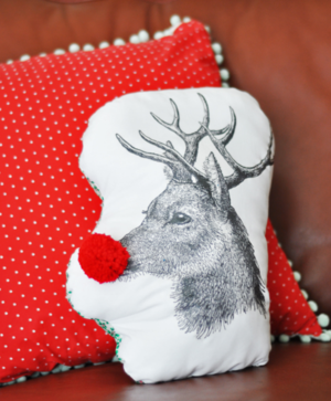 30 Minute Christmas Pillow
