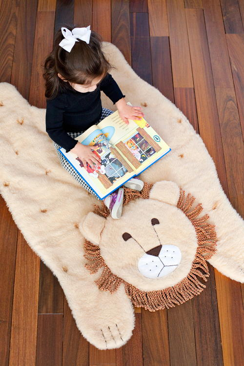 Plush Animal DIY Play Mat