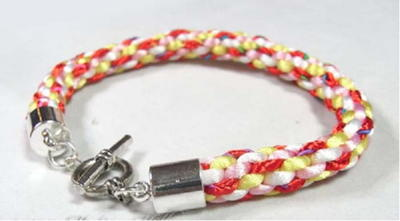 Basic Kumihimo Braid Bracelet