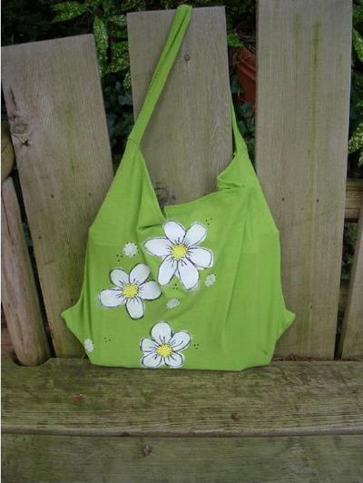 Groovy T Shirt Tote