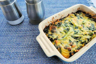 Zucchini and Spinach Tian