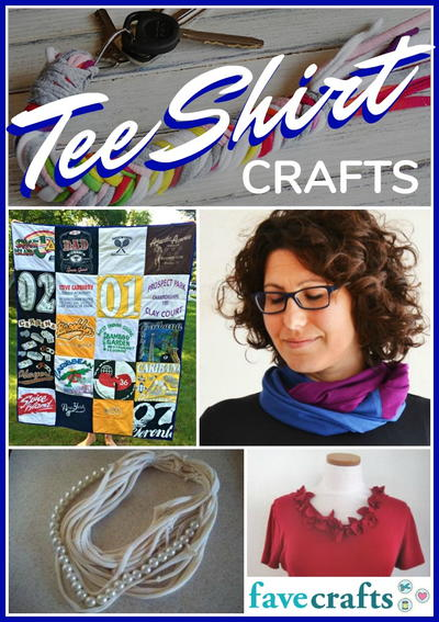 18 Tee Shirt Crafts