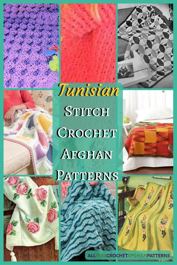 28 Tunisian Stitch Crochet Afghan Patterns ...