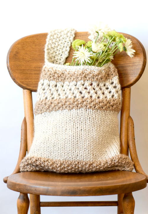 Farmers Market Natural Tote