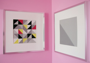 Modern Patchwork DIY Wall Art