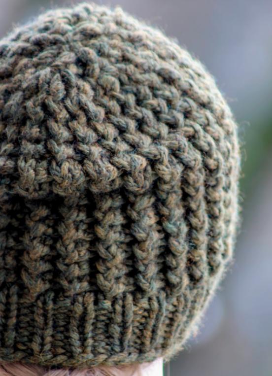 Super Bulky Knit Men S Beanie Allfreeknitting Com