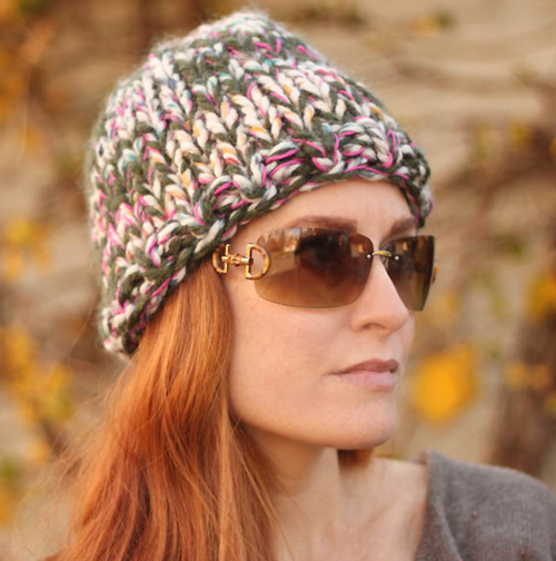 Triple Knit Hat Pattern