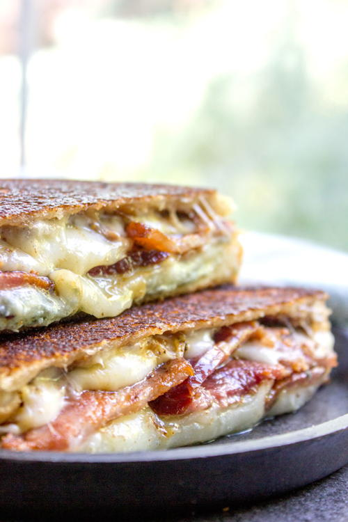 Fig and Bacon Grilled Cheese