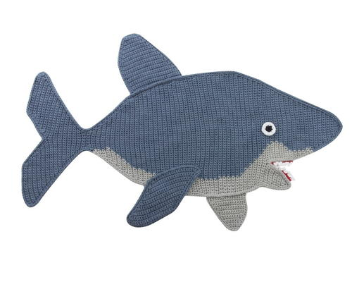 Super Cute Shark Afghan