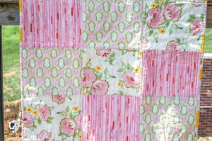 Fabulous Fat Quarter Baby Quilt