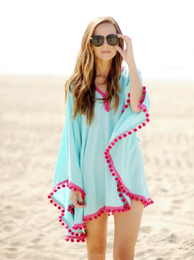 Two Yard Beach Cover-Up