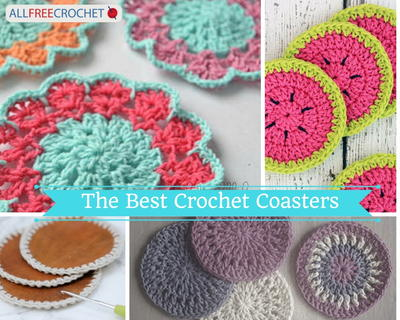 The Best Crochet Coasters to Make: 16 Crochet Coasters