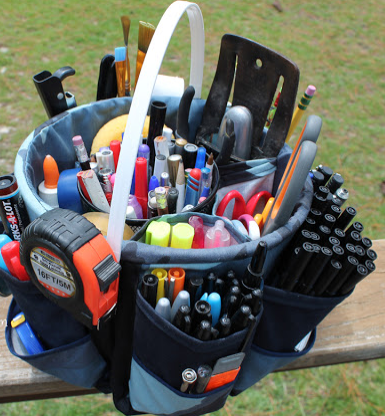 Clever DIY Organizing Caddy