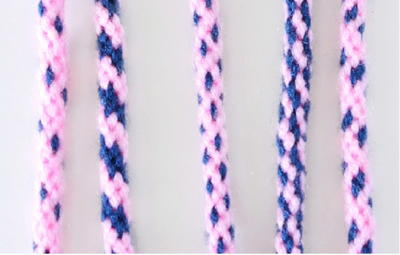 How to Create Different Color Patterns with 8-Strand Kumihimo Braiding
