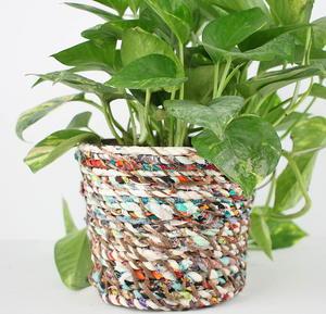 Fabulous Fabric Diy Flower Pot Allfreesewing Com