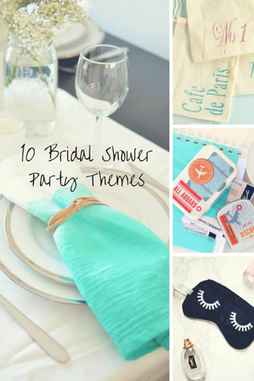 12 Posh Bridal Shower Party Themes For Every Woman