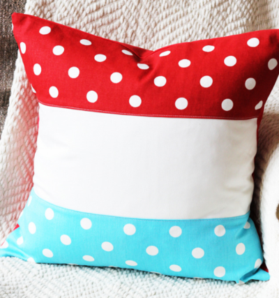 One Hour Patriotic Pillow