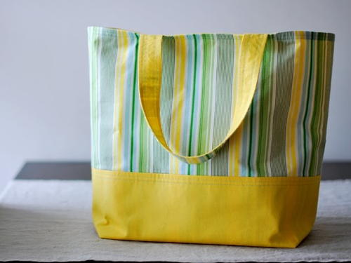 DIY Reusable Grocery Tote
