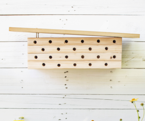 Modern DIY Bee House