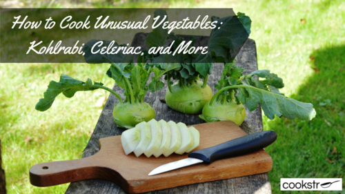 How to Cook Unusual Vegetables Kohlrabi Celeriac and More