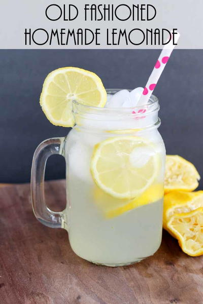 Old Fashioned Homemade Lemonade