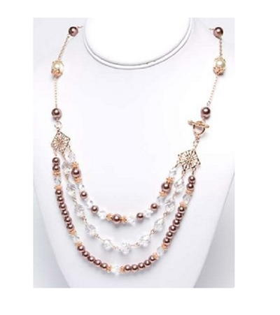 Rose Gold Romance Necklace