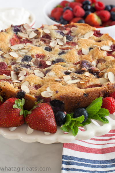 Fresh Berry Cake