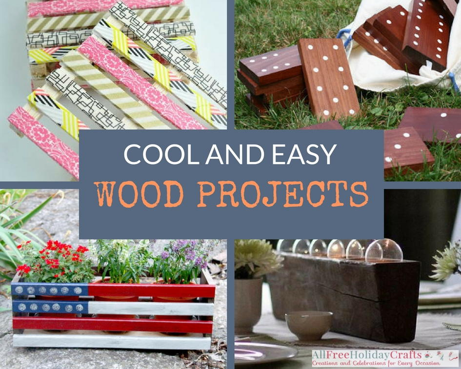 Cool Wood Projects: 35 DIY Pallet Ideas and Easy Wood ...