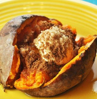 Brown Sugar Cinnamon Slow Cooker Sweet Potatoes