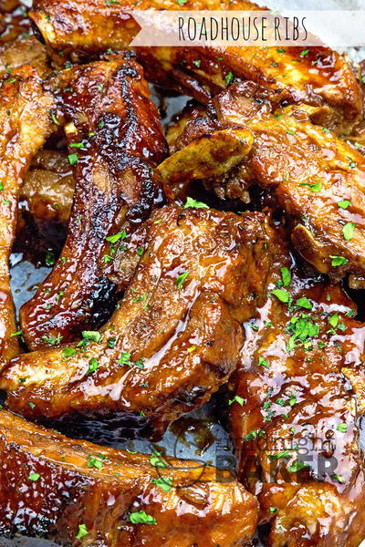 Slow Cooker Roadhouse Ribs