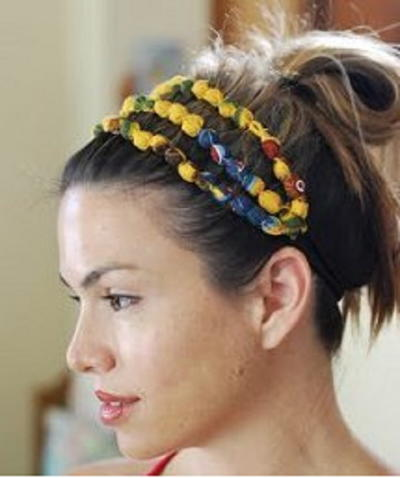 Easy Beaded Headband Tutorial