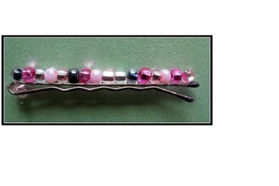 Beaded Hair Pins