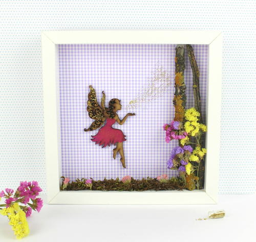 Fairyland with Flowers Frame
