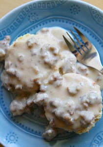 Classic Biscuits and Gravy