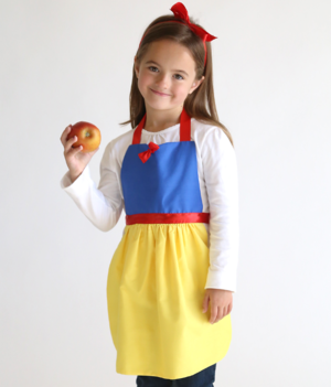 Snow White DIY Dress Up Apron