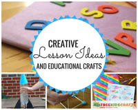 56 Creative Lesson Ideas and Educational Crafts for School Kids